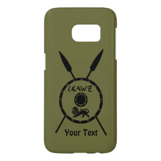 Subdued Maccabee Shield And Spears Samsung Galaxy S7 Case
