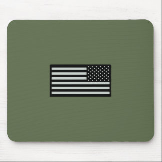Subdued Military Flag Mouse Pad