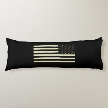 Subdued Military Flag - Sand Body Pillow