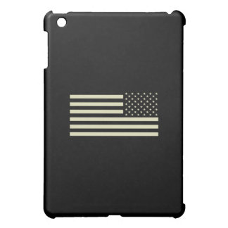 Subdued Military Flag - Sand Case For The iPad Mini