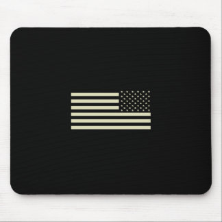 Subdued Military Flag - Sand Mouse Pad