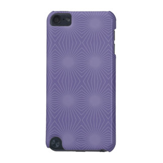Subdued Purple Starburst Pattern iPod Touch (5th Generation) Cases