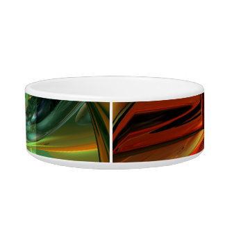 Subdued Strength Abstract Bowl