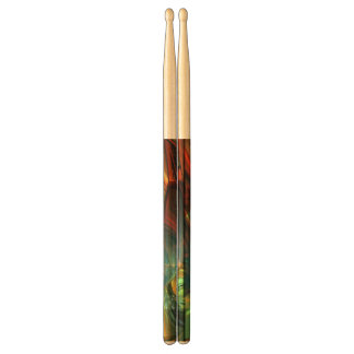 Subdued Strength Abstract Drumsticks