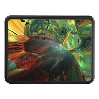 Subdued Strength Abstract Hitch Covers