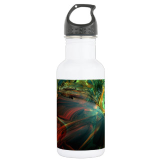 Subdued Strength Abstract Water Bottle