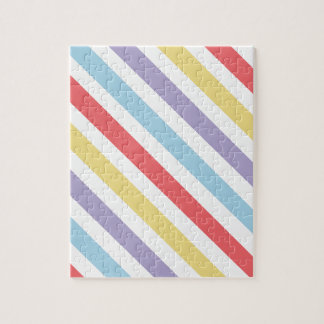 Subdued Stripes Jigsaw Puzzle