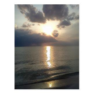 Subdued Sunset 2 Postcard