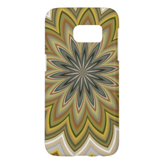 Subdued Swirling Agate Pattern Samsung Galaxy S7 Case