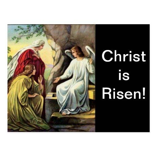¡Suben a Cristo, él se sube seguramente! Postal