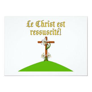 """Suben a Cristo Invitación 5"""" X 7"""""""