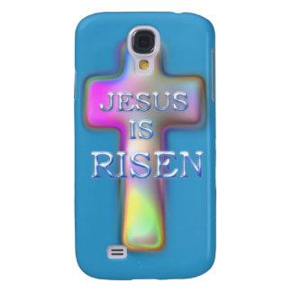 SUBEN a Cruz-Jesús en colores pastel Funda Para Galaxy S4