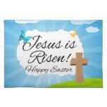 Suben a Jesús, Pascua cristiana Mantel Individual