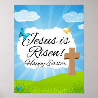 Suben a Jesús, Pascua cristiana Póster