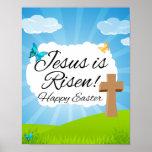 Suben a Jesús, Pascua cristiana Posters