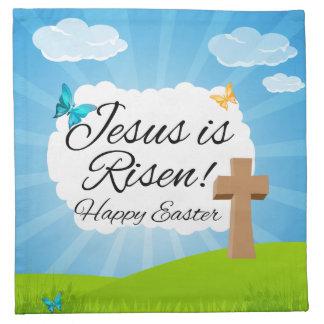 Suben a Jesús, Pascua cristiana Servilletas Imprimidas