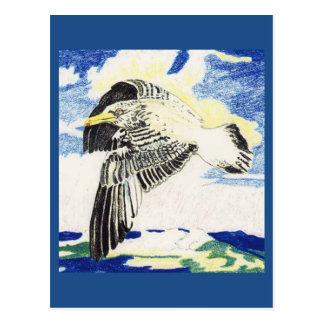 Subespecie de la gaviota de arenques tarjetas postales