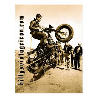 Subida de la colina de Harley Tarjetas Postales