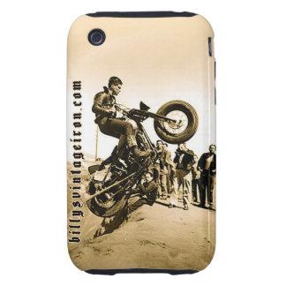 Subida de la colina de Harley Tough iPhone 3 Carcasas