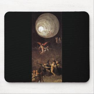 Subida de la haber bendecido, por Hieronymus Bosch Mousepad