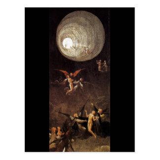 Subida de la haber bendecido por Hieronymus Bosch Postales