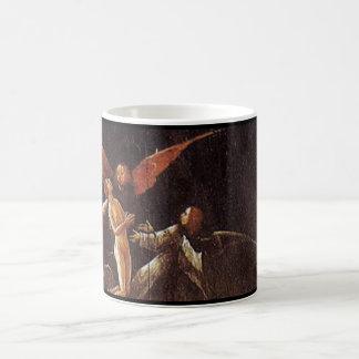 Subida de la haber bendecido por Hieronymus Bosch Tazas De Café