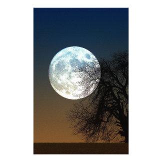 Subida de la luna papelería