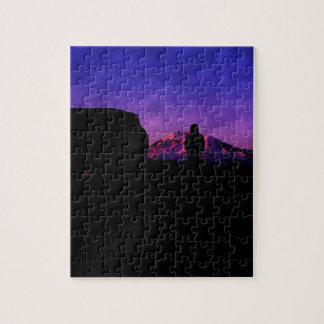 subida de la montaña puzzle con fotos