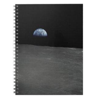 Subida de la tierra spiral notebook
