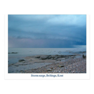 Subida de las aguas en nubes en Beltinge, Kent Postales