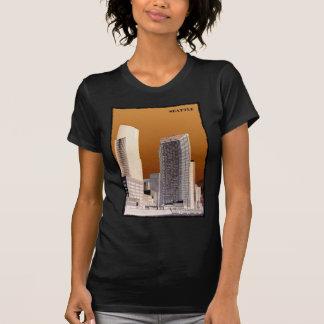 Subida de Seattle Camisetas