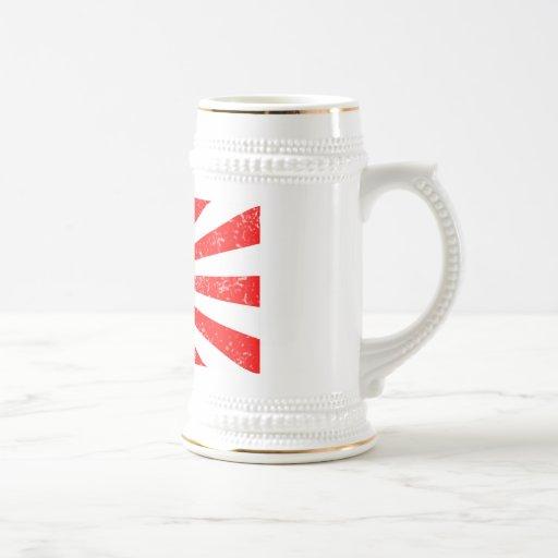 subida de Stein Miyama Ryu Sun de la cerveza 22oz Tazas De Café