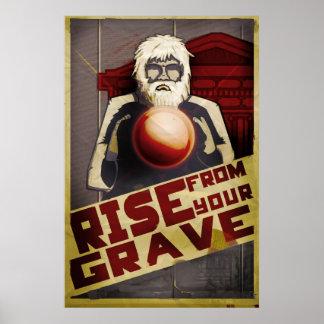 Subida de su sepulcro póster