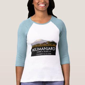 Subida del Mt Kilimanjaro del personalizado Poleras