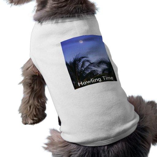 Subidas de la Luna Llena Camisas De Mascota
