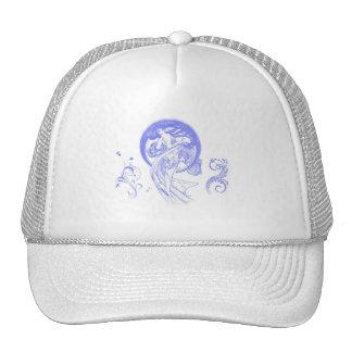 Subido de tono de antaño gorras