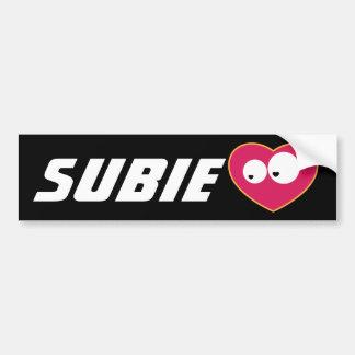 Subie Love Bumper Sticker