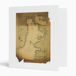 Subig (Subic) Bay Luzon Philippines 1902 Map 3 Ring Binder