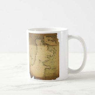Subig (Subic) Bay Luzon Philippines 1902 Map Coffee Mug