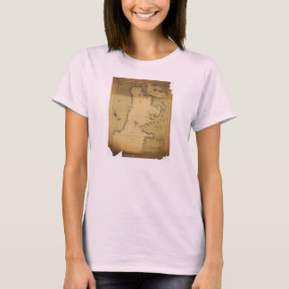 Subig (Subic) Bay Luzon Philippines 1902 Map T-Shirt