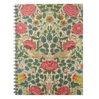 """""""Subió"""", 1883 (el algodón impreso) Cuaderno"""