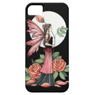 Subió de arte de hadas gótico de la fantasía del iPhone 5 carcasas