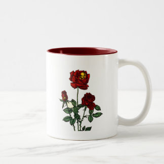 Subió para la vida taza de café de dos colores