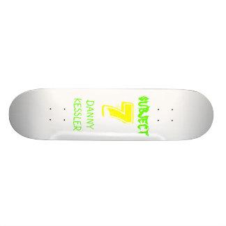 subject                                        ... skateboard deck