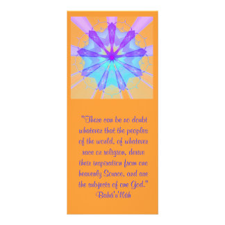 Subjects of One God Ruhi Quote Rack Card