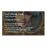 Subjects On A Golden Background By Hawkins Louis W Business Cards