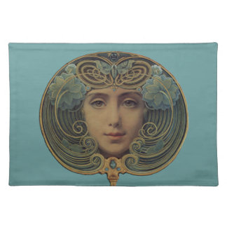 Subjects on Golden Reason Cloth Placemat