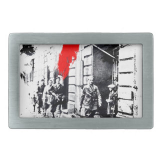Sublevación 1944 de Varsovia Polonia Hebilla Cinturón Rectangular