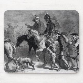 Sublevación de Nueva Inglaterra Yeomanry Alfombrillas De Ratón