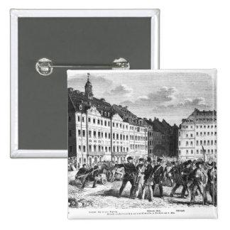 Sublevación en Dresden Pin Cuadrada 5 Cm